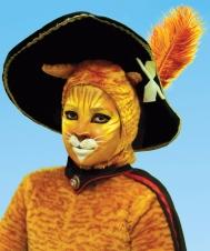 Gato de Botas - Foto Paki Produções